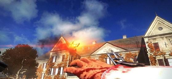 Damn drones in Wolfenstein: The New Order