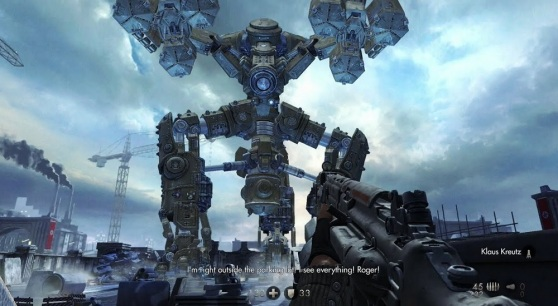 The London Monitor is a giant beast in Wolfenstein: The New Order