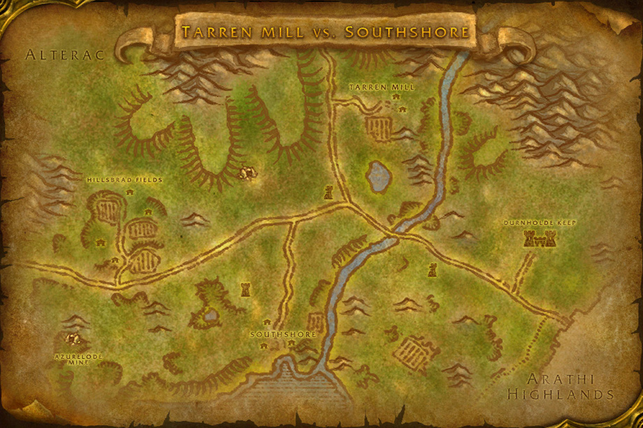 Anyone who played World of Warcraft during its first year will remember this map.