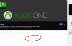 Xbox Twitch account