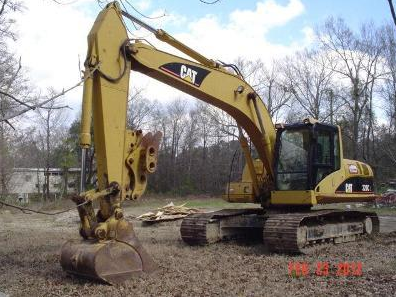 a real excavator