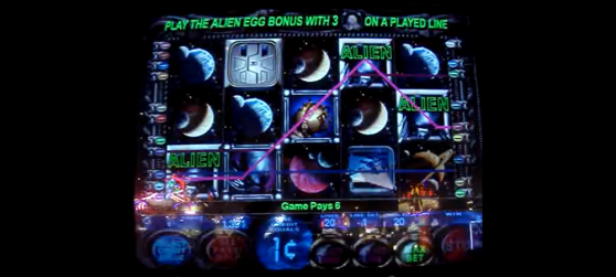 Alien Slot Machine