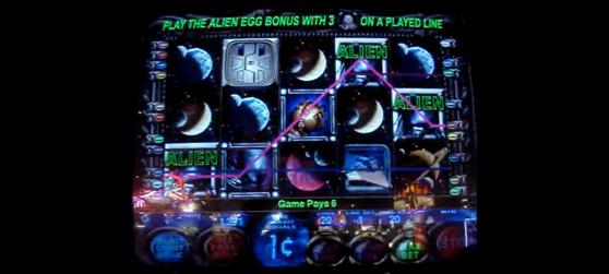 Alien Slot Machine