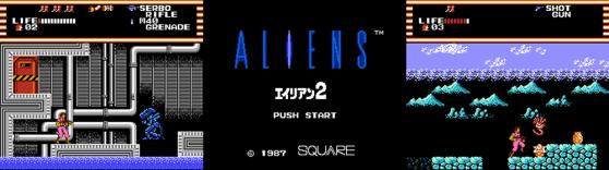 Aliens Famicom Disk System