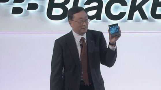blackberry ceo passport