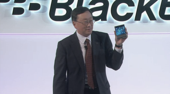 blackberry ceo passport