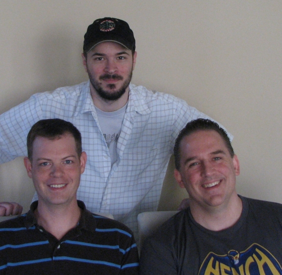 Bonus XP cofounders John Evanson, Jason Sallenbach, and Dave Pottinger