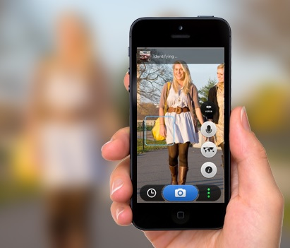 CamFind on iPhone