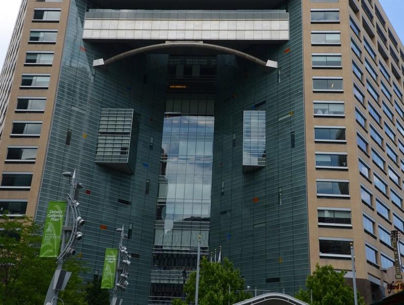 Compuware's headquarters in Detroit