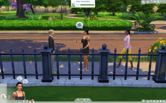 The Sims 4 conversation