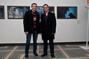 Petar Dobrev (left) and Deyan Vitanov