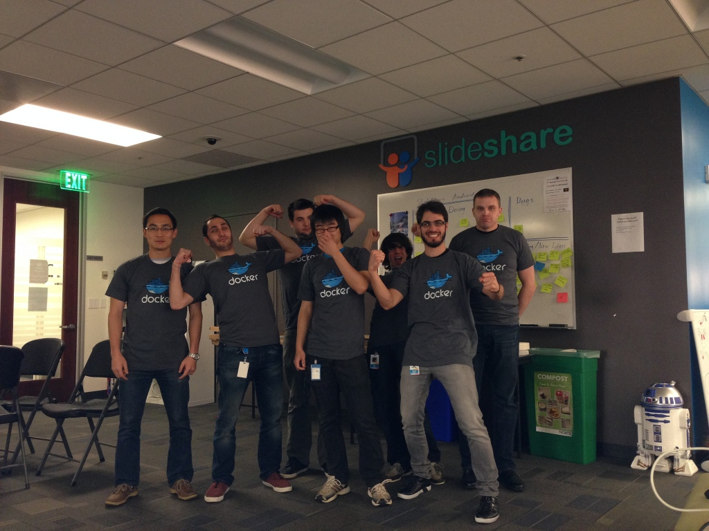 The Slideshare team has gone Docker.