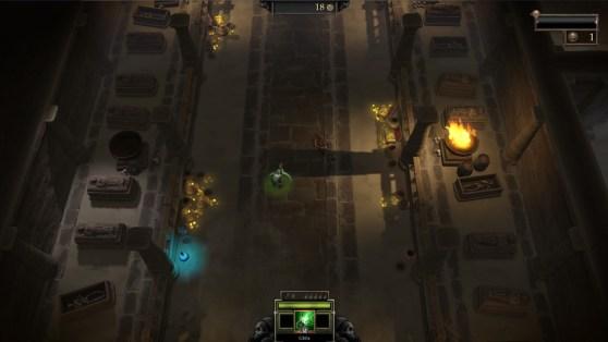 Gauntlet screen shot