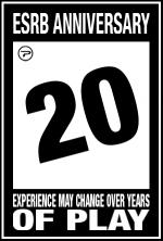 ESRB anniversary rating