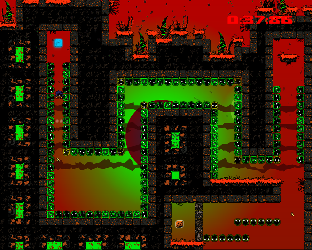 Fenix Rage scratched that ultra-hard platformer itch like no other in 2014.