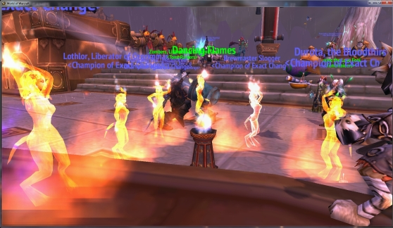 World of Warcraft Brazier of Dancing Flames