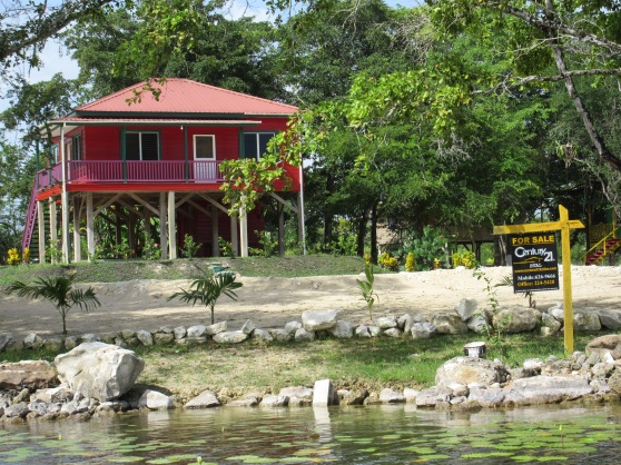 John McAfees house in the Orange Walk district of Belize, on the market for $500,000.