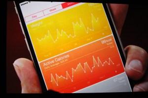 The Apple Watch apps can dump data into Apple's Health app.