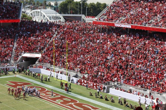 Levi's Stadium: The 49ers versus the Chargers