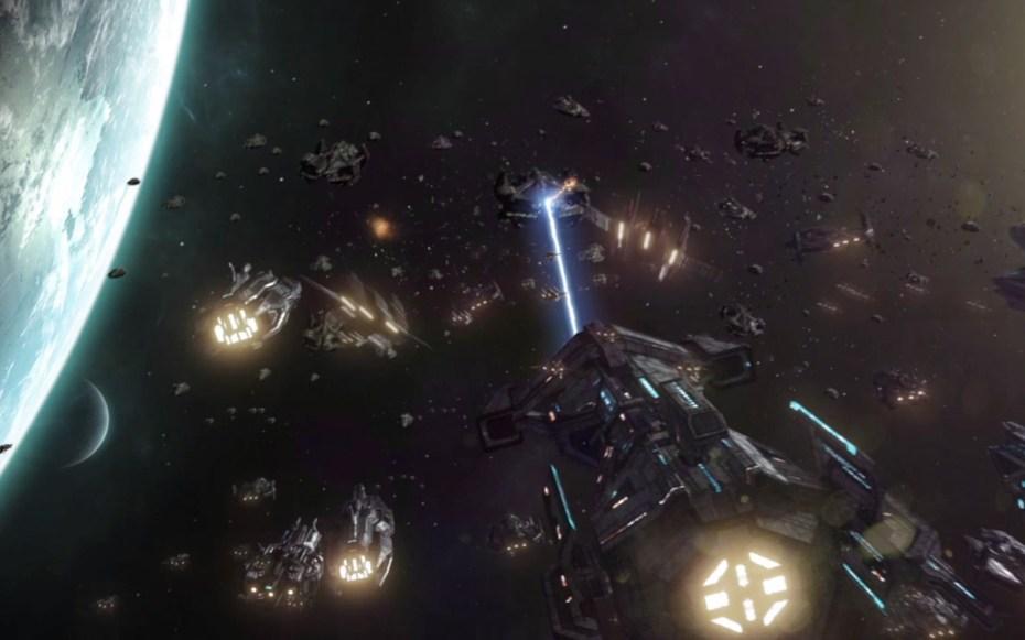 Galactic Civilizations III intro video