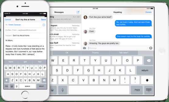 iOS 8's revamped keyboard