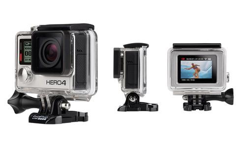 GoPro's Hero4 Silver camera