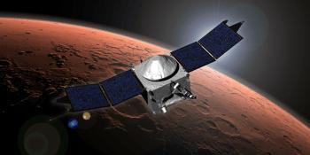 NASA's MAVEN spacecraft successfully enters Mars' orbit