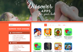 An app helper for Moms ... and Dads