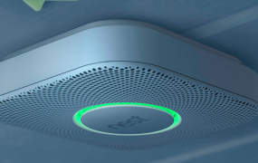 The Nest Protect smoke/carbon monoxide alarm