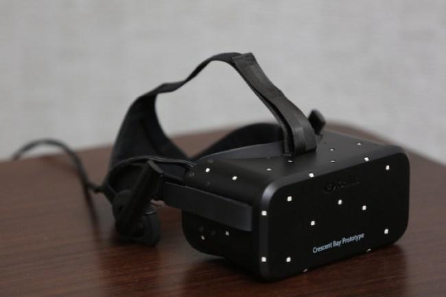 Oculus VR's Crescent Bay prototype