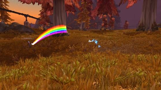 World of Warcraft rainbow generator