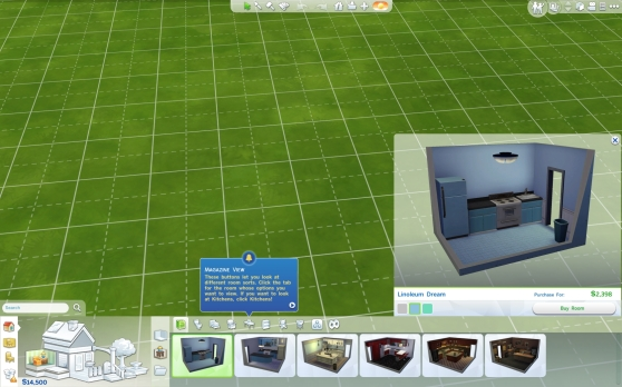 The Sims 4 Build Mode lot