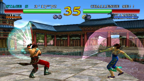 Soul Calibur -- Dreamcast Kilik vs. Xianghua