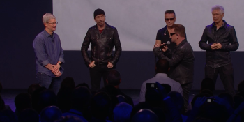 Apple gives U2's new album away for free to all iTunes customers