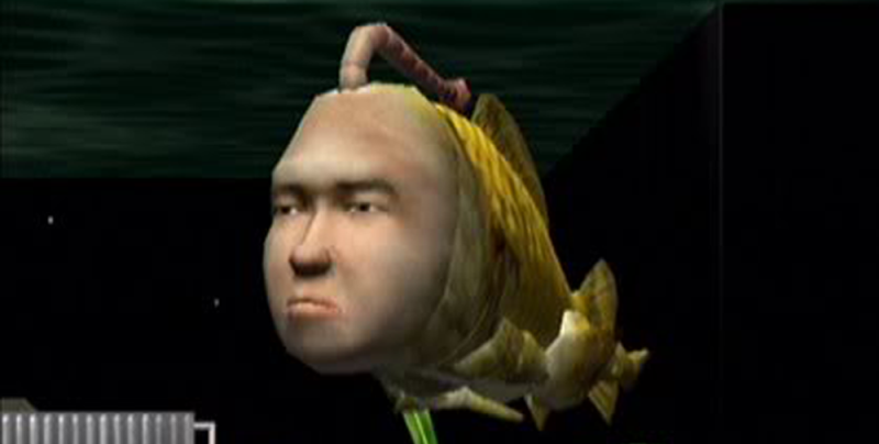 Seaman was really ugly.