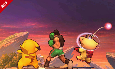 Little Mac teaches his friends a lesson in threatening the sky.