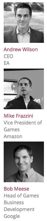 Just a few of the GamesBeat 2014 speakers