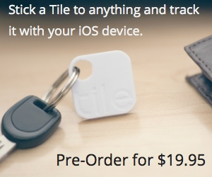 If you were to judge the Tile's dimensions purely from this ad, you'd probably think it was a lot thinner than it really is.