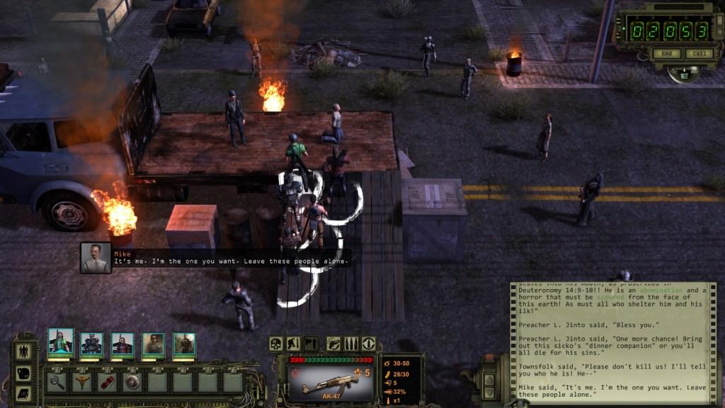 Wasteland 2 execution