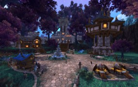 Warcraft Alliance garrison in Warlords of Draenor