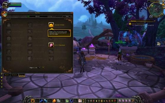 World of Warcraft Toy Box
