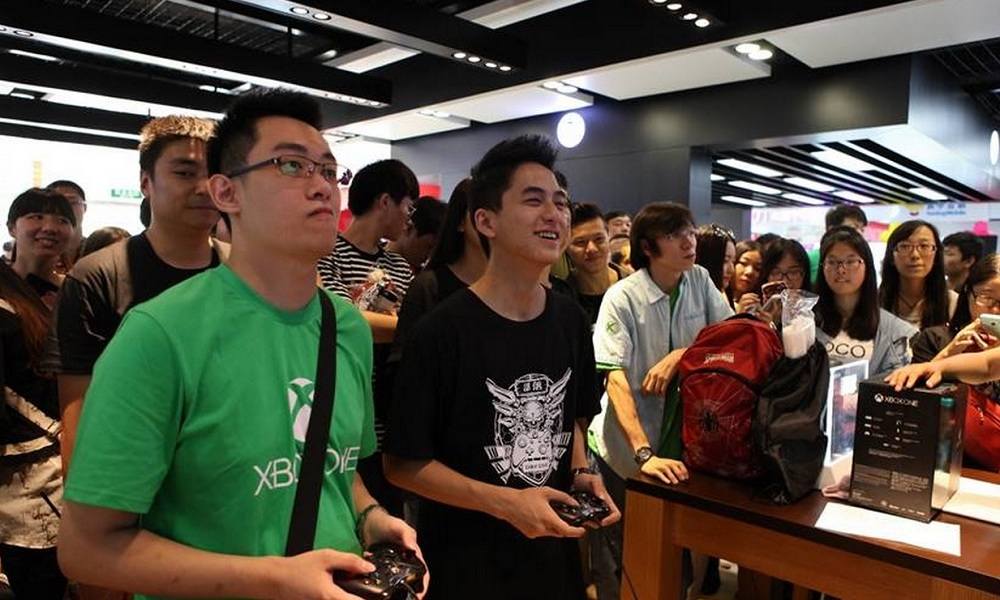 Microsoft launched the Xbox One in China in 2014.