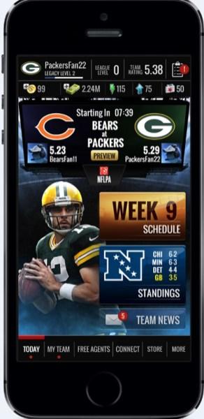 Zynga NFL Showdown