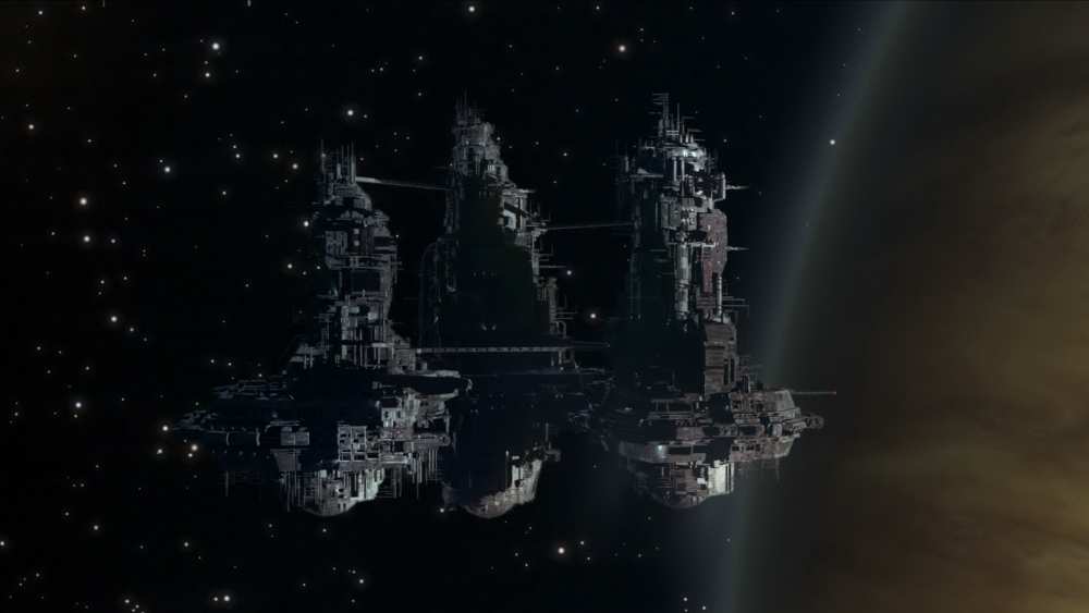 Sevastopol Station doesn't look much different from the Nostromo.