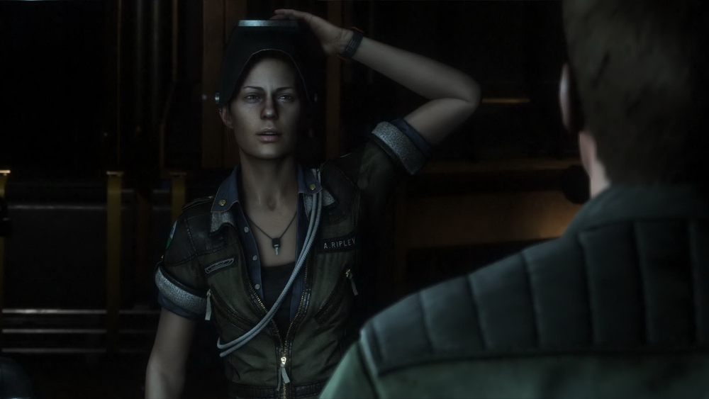 Amanda Ripley, last seen in a still photo in the director's cut of Aliens.