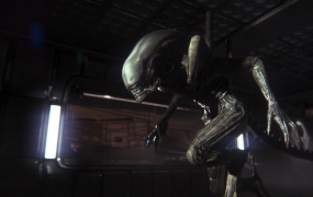 This Xenomorph is from 2014's Alien: Isolation.