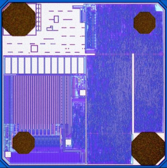 Alien Technology RFID Higgs 3 chip.