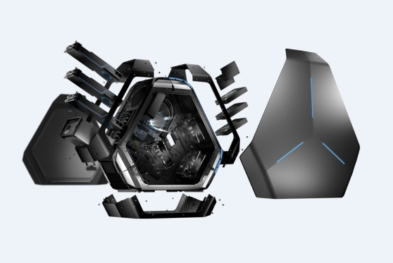 Alienware Area-51 exploded view