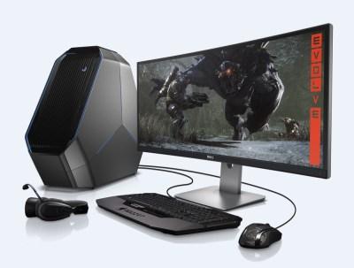 Groovy Alienware Shows Off Its New Area 51 Gaming Desktop Venturebeat Download Free Architecture Designs Intelgarnamadebymaigaardcom