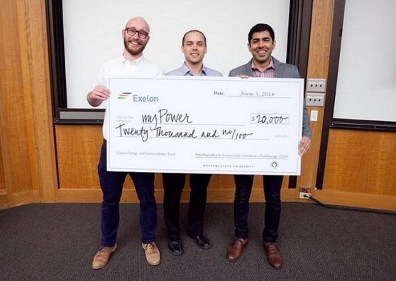 Ampy founders Alex Smith, Mike Geier, and Tejas Shastry